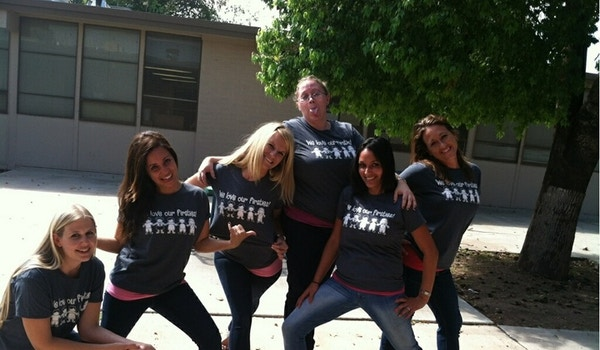 We Love Our Firsties! T-Shirt Photo