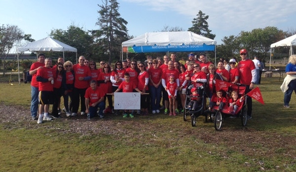Fundraising For The National Brain Tumor Society T-Shirt Photo