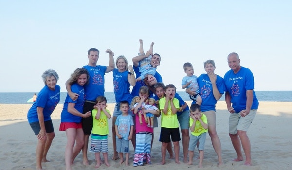 Neff Family Beach Party 5 K Run T-Shirt Photo