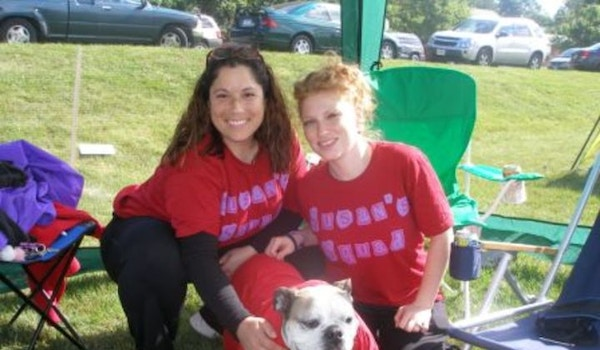 Susan's Squad With Lucky Dog T-Shirt Photo