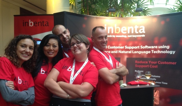 Inbenta Showed Conference Goers Who Was Apart Of Our Stellar Team! T-Shirt Photo