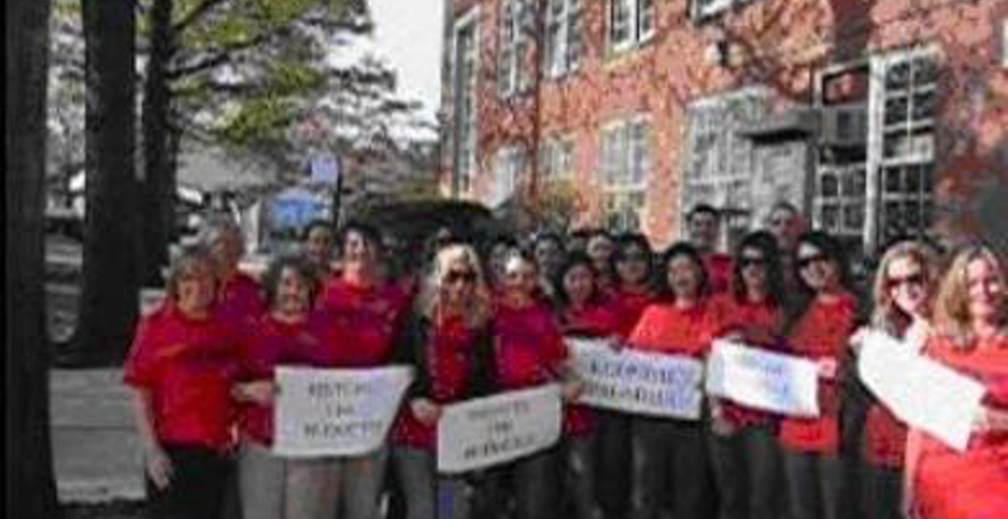 March To Save The Nyc School Budget T-Shirt Photo