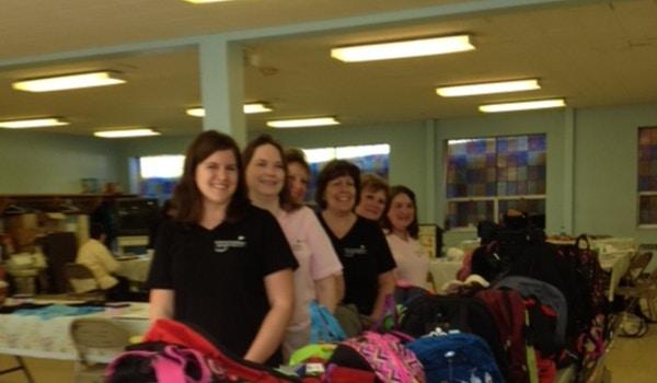 Back Packs For Hope  T-Shirt Photo