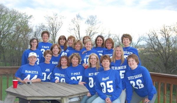Galen Girls Weekend   Backs T-Shirt Photo