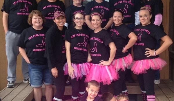 The Pink High Heels Team  T-Shirt Photo