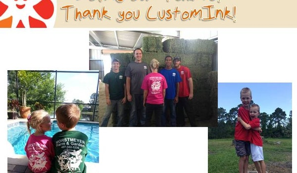 At Work And At Play ~ We Love Our Tshirts! T-Shirt Photo
