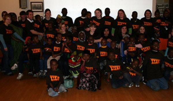 Asymetric Tutoring Program Group Pic T-Shirt Photo
