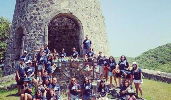 University Of Puerto Rico   Dept. Of Geography   Valor 2014 T-Shirt Photo