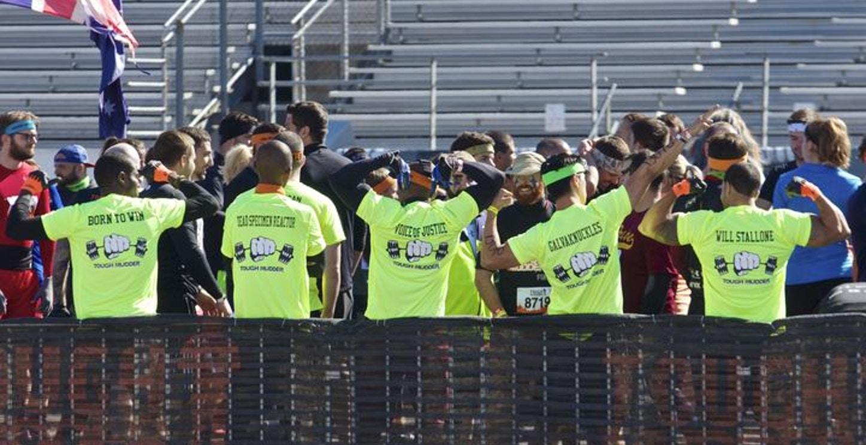 2014 Tri State Tough Mudder   World Changers T-Shirt Photo
