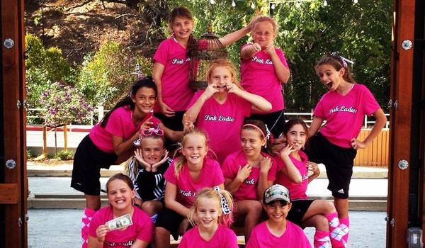 Soccer Tournament   Pink Ladies T-Shirt Photo