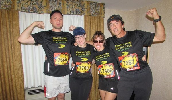 The Dharma Bums Running Club T-Shirt Photo