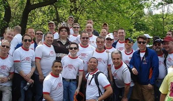 Nycgmc At Aids Walk 2008 T-Shirt Photo