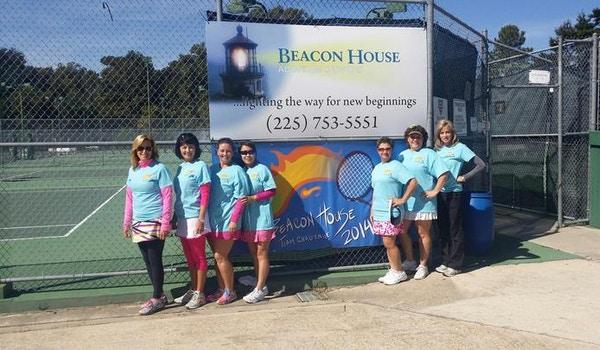 Ladies Tennis Team T-Shirt Photo