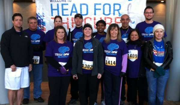 Team Ofm Brainiacs @ Head For The Cure T-Shirt Photo