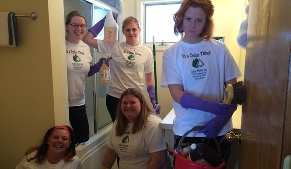 The Real Housekeepers Of Marquette Mi T-Shirt Photo