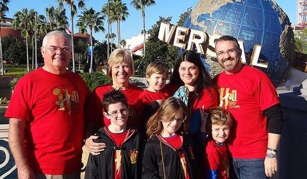 Hall Family Vacation T-Shirt Photo