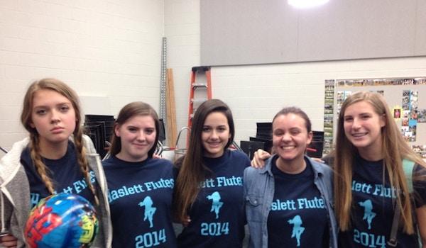 Haslett Flute Section T-Shirt Photo