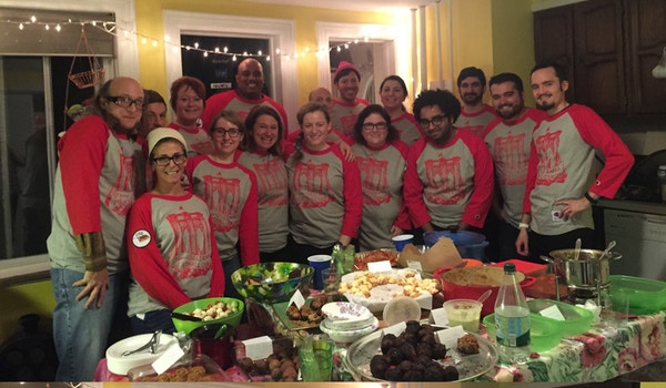 5th Annual Balls To The Wall Meatball Cook Off T-Shirt Photo