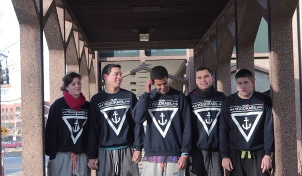 Team Yggdrasil Parkour And Freerunning  T-Shirt Photo
