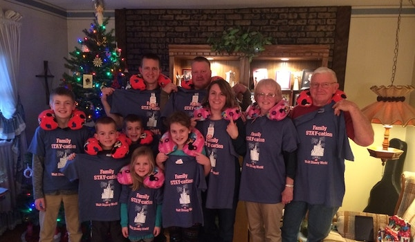 Our Family Stay Cation! T-Shirt Photo