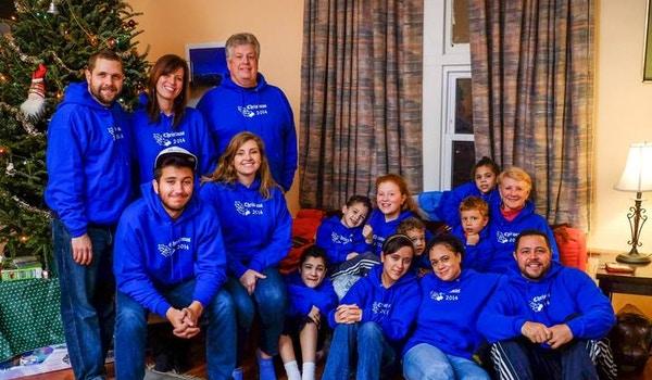 Family Christmas Hoodies! T-Shirt Photo