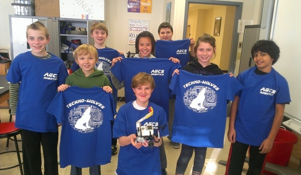 Agcs Robotics Rockin' Team Spirit T-Shirt Photo