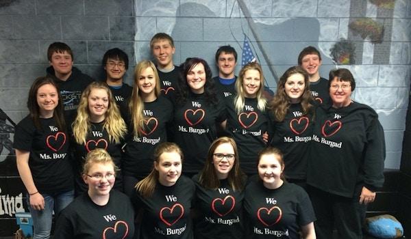 We Love Ms. Burgad! T-Shirt Photo