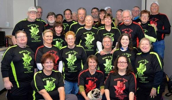 Heart Of Texas Recumbent Rally And Rodeo Ho Tties T-Shirt Photo