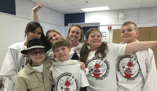 Riverside Odyssey Of The Mind 5th Grade Team 2015 T-Shirt Photo