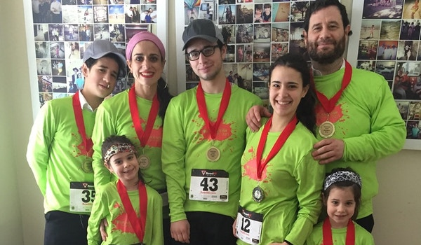 Family Marathon T-Shirt Photo