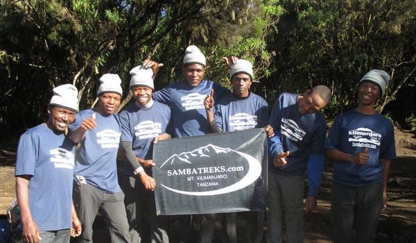 Samba Treks Kilimanjaro Team T-Shirt Photo