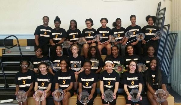 Uniondale High School Badminton Team  T-Shirt Photo