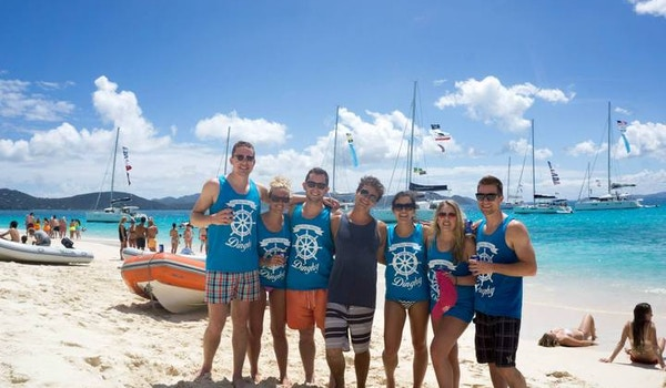 The Yacht Week Crew In British Virgin Islands! T-Shirt Photo