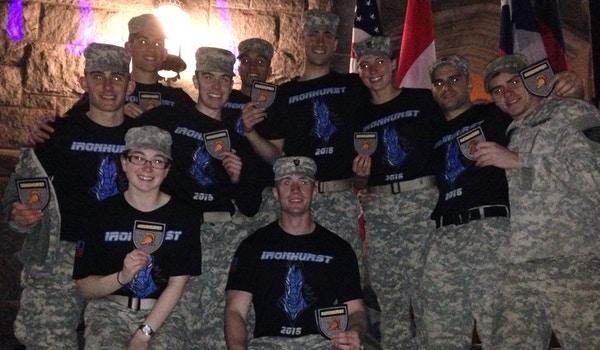 "West Point I 1 Sandhurst Team Aka ""Ironhurst"" T-Shirt Photo"
