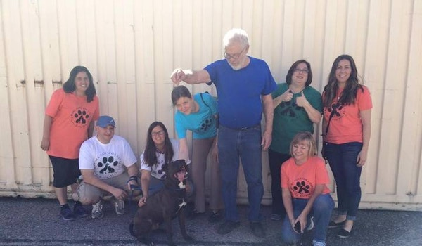 Henry Gets Adopted! Volunteers Say A Teary Goodbye! T-Shirt Photo