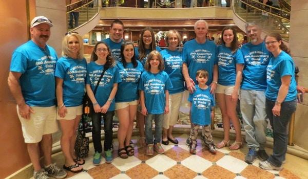 50th Anniversary Cruise T-Shirt Photo