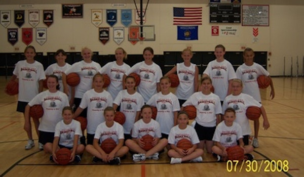 """Portage Hoopsters """"Preparing To Win!"""" T-Shirt Photo"""