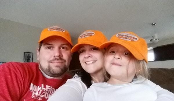 Abbey's Army Team Hats T-Shirt Photo