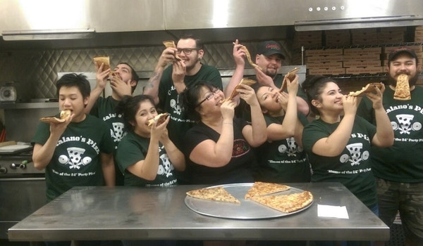 You'll Love Our Pizza As Much As We Do!!! T-Shirt Photo
