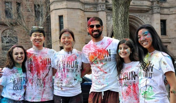Yale Net Impact Color Run T-Shirt Photo