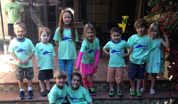 Team Sinclair   Walk Now For Autism Speaks La T-Shirt Photo
