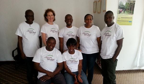 Africa Bridge Staff T-Shirt Photo