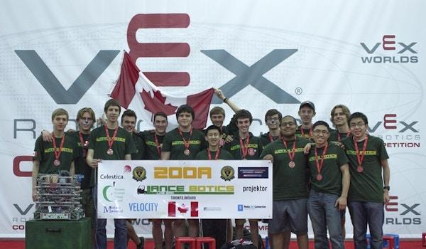 Lancebotics 200 A At 2015 Vex World Championships T-Shirt Photo