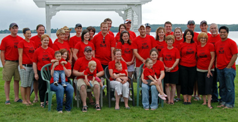 Lowe Family Reunion T-Shirt Photo