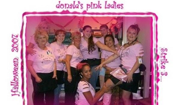 Donald's Pink Ladies T-Shirt Photo