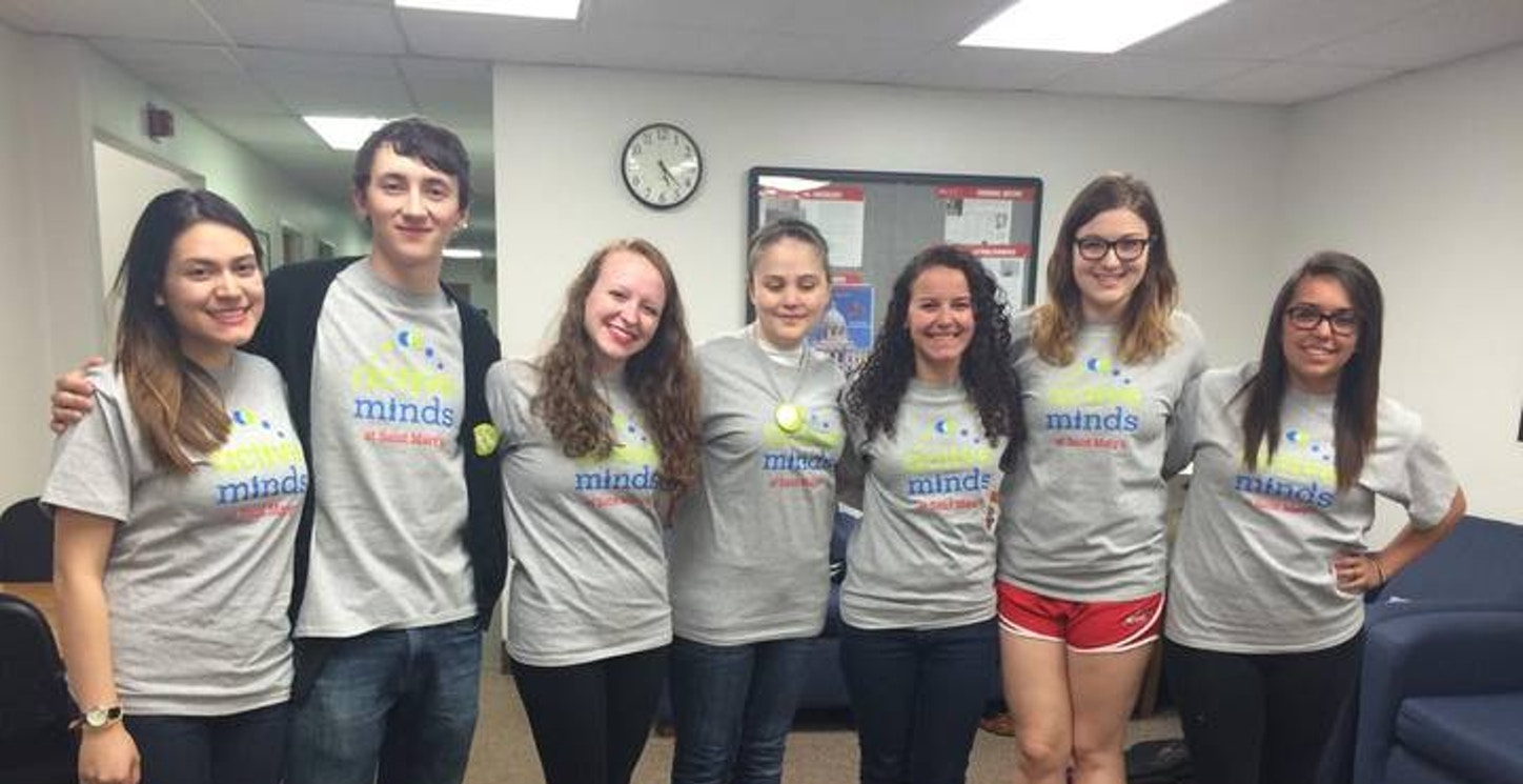 Our First Year As The Active Minds At Saint Mary's Leadership Team! T-Shirt Photo
