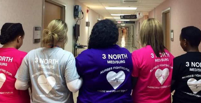 Va Nurses T-Shirt Photo