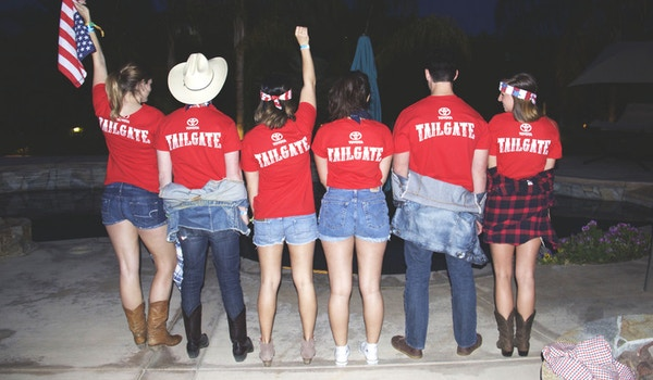 Rapp Team Toyota Tailgate At Stagecoach! T-Shirt Photo