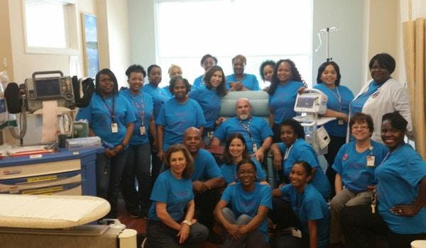 Nurses The Heart Of Healthcare T-Shirt Photo