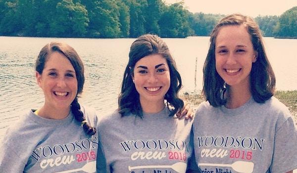 Woodson Crew Senior Night T-Shirt Photo